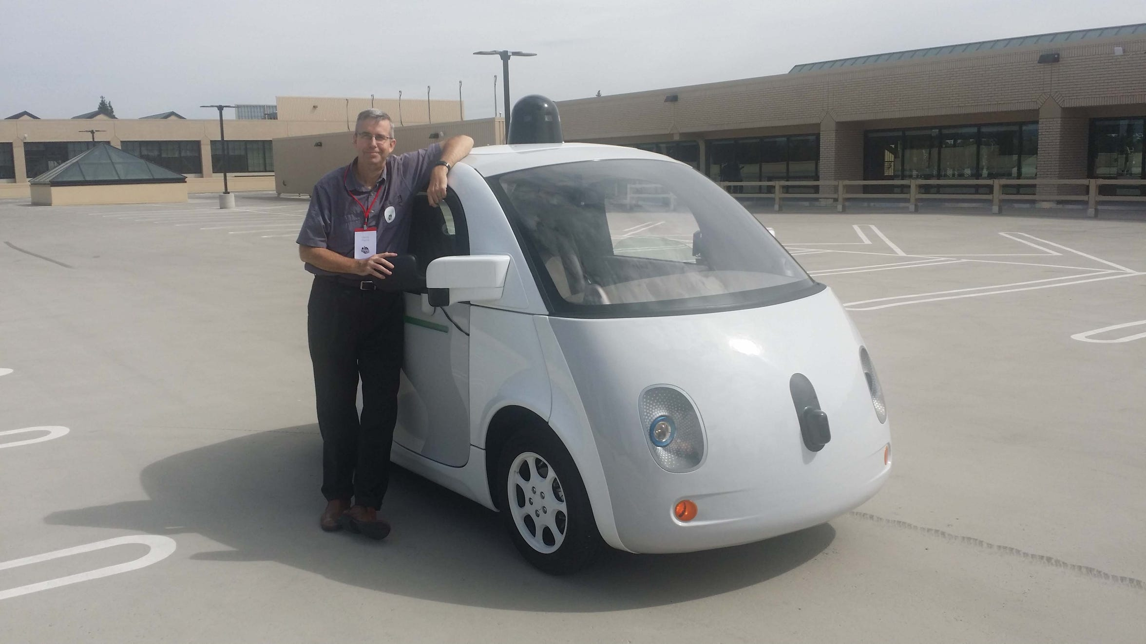 "The ""Skynet Marshmallow Bumper Bot"" (as the Oatmeal.com website called it) announced Silicon Valley as a mobility leader. Self-driving cars suddenly seemed within reach. Without a steering wheel, the Livonia-built Google car felt like riding in a four-wheel subway car. The pioneering robot plied city streets in San Francisco and Austin for a time before giving way to more practical people-movers like Waymo (Google) minivans, Uber Volvos and Cruise Automation Chevy Bolts."