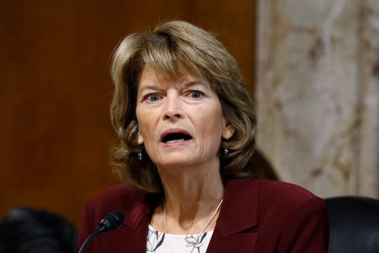 """If it means that I am viewed as one who looks openly and critically at every issue in front of me rather than acting as a rubber stamp for my party or my president, I am totally good with that,"" Sen. Lisa Murkowski said."