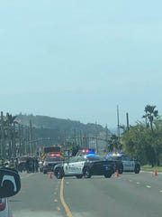 A motorcycle crash caused serious injuries in front of Maite Pay-Less on Route 8, according to Guam Fire Department spokesperson Kevin Reilly. Guam Fire Department units are at the scene.