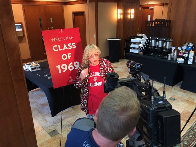 Tony- and Grammy award-winning songwriter Allee Willis returned to the University of Wisconsin-Madison last fall as part of the 50th reunion of the Class of 1969.