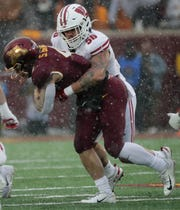 Wisconsin linebacker Zack Baun was expected to be drafted late in the first round or early in the second.