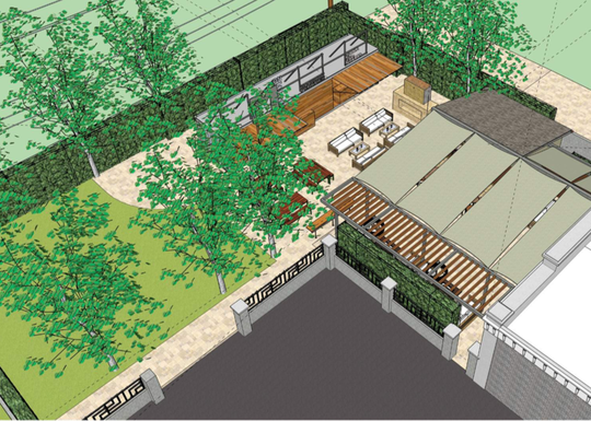 Slated to open in summer 2020, M on High Street in Moorpark will include a back patio furnished with a fireplace, cabana-style seating and a shipping container converted into an outdoor bar. The site was home to The Secret Garden Restaurant from 1997 through 2015.