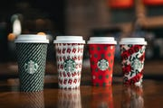 Select Starbucks locations are opened on Christmas.