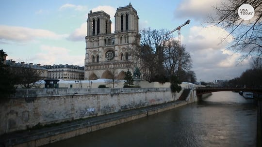 Notre Dame Cathedral, empty for Christmas, may never recover from devastating fire