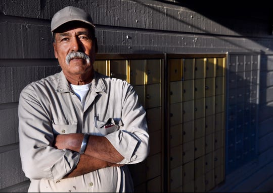Baudilio Ovalle, at Copper Creek Apartments where he works maintenance, is an Everyday Hero.