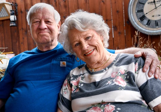 Ted and Geneva Lucas of Abilene are good neighbors and Everyday Heroes.
