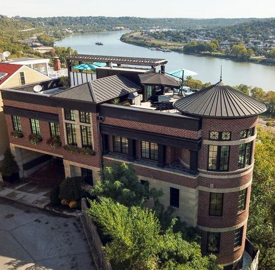 This house in Mount Adams was recently listed for approximately $2.7 million