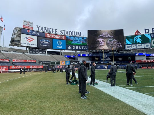 Michigan State Football To Go With Best Qb To Win Pinstripe Bowl