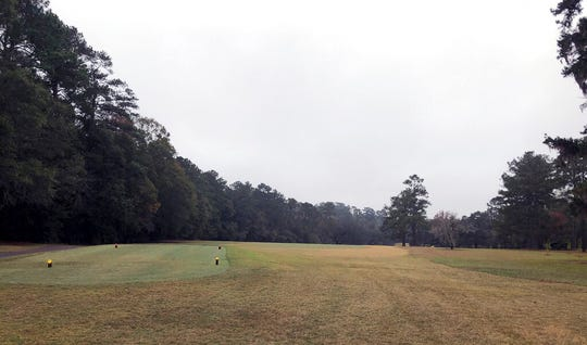 An unmarked cemetery at the Capital City Country Club in Tallahassee, Fla, is shown on Dec. 17, 2019.  The discovery this month of 40 graves -- with perhaps dozens more yet to be found -- has spawned discussion about how to dignify the souls who lay in eternal rest at the golf course.