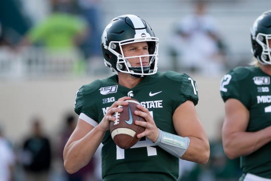 Friday's Pinstripe Bowl will mark the final game of quarterback Brian Lewerke's Michigan State career.
