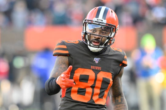 Browns wide receiver Jarvis Landry