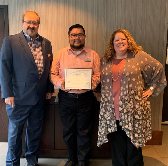 Crowne Plaza Seattle Airport, would like to congratulate Jason Jesus on receiving his certification as the certified hospitality housekeeping executive through the American and Hotel and Lodging Association on Nov. 5, 2019. Jesus is formerly from Agat and is the son of Vicente Q. and Mary D. Jesus.