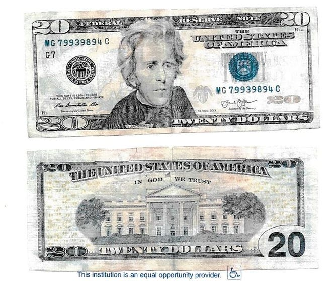 Duson Police is warning about the use of counterfeit bills that were first spotted at a truck stop casino.