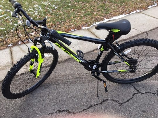 DeWitt resident Tom Shields bought a bike for a Holt teen and delivered it Dec. 20, 2019. The teen's mother got bikes for her other three children at a bike giveaway but there weren't any in her oldest child's size.