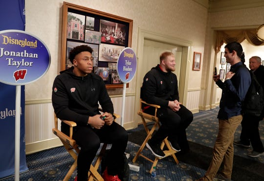 Although they have proven on the field they are ready for the NFL, UW tailback Jonathan Taylor and center Tyler Biadasz say they wouldn't think of skipping the Rose Bowl.