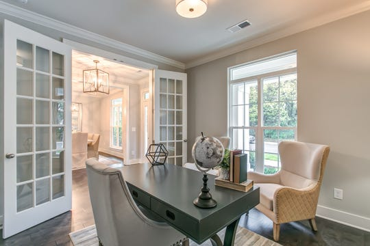 This home at 2060 Bushnell Farm Drive is available in the boutique community of Stream Valley Farms, where there will only be 14 homes total.  Built by Patterson Company, the three-bedroom home is available through LCT Team – Parks' Realtors Megan Jones and Amy Pappas.
