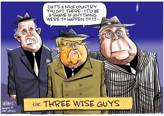 The three wise guys on Ukraine.