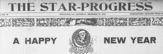 Star Progress newspaper, Happy New Year