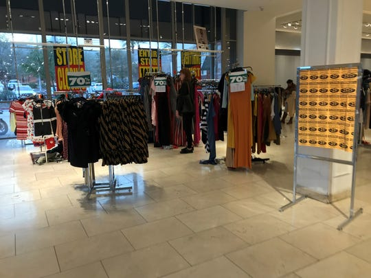 Forever 21 in Rancho Mirage was slated to close on Dec. 28, 2019 as part of the fast fashion retailer's bankruptcy.
