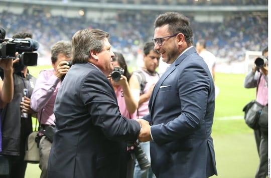 Miguel Herrera y Antonio Mohamed se verán las caras en la Final.