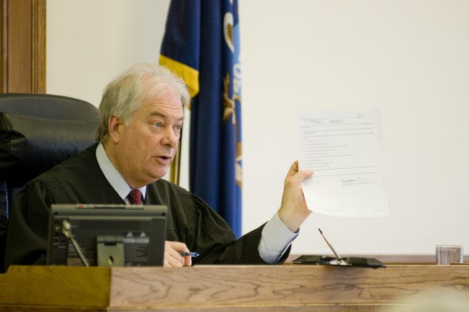 Sanilac County Circuit Court Judge Donald Teeple in 2011.