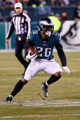 Former Penn State running back Miles Sanders is finishing strong during his rookie season with the Philadelphia Eagles.