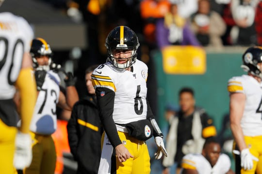 Pittsburgh Steelers quarterback Devlin Hodges has thrown six interceptions in his past two games.