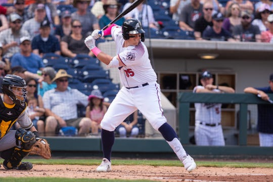 Reno Aces first baseman Kevin Cron put up big numbers in the Pacific Coast League.
