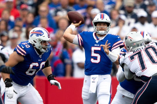 Bills backup QB Matt Barkley played briefly against the Patriots in Week 4, but that has been his only game action in 2019.