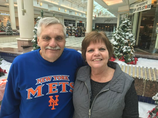 Steve and Linda Futter of Livonia shop the after holiday deals
