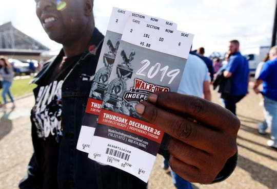 Louisiana Tech vs. Miami in the 2019 Walk-On's Independence Bowl Thursday afternoon, December 26 in Shreveport, Louisiana.