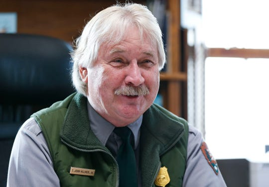 Wilson's Creek National Battlefield Park Superintendent Ted Hillmer talks about his time at the park on Thursday, Dec. 26, 2019. Hillmer is retiring after leading the park since 2003.