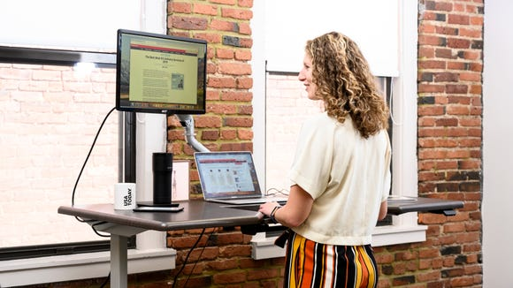 The iMovR standing desk will give your office an entirely new feel.