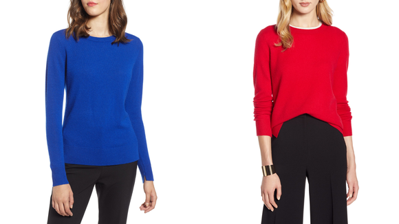 Nordstrom Half-Yearly Sale: Halogen Cashmere Sweater