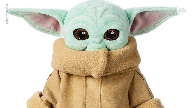 Disney unveils newest 'Baby Yoda' toy: An 11-inch plush doll, delivered in March 2020