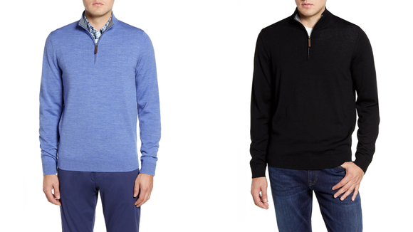 Nordstrom Half-Yearly Sale: Men's Quarter Zip Pullover