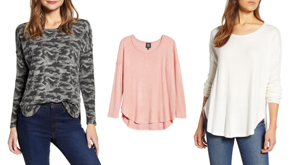 Nordstrom Half-Yearly Sale: Bobeau Fuzzy Top
