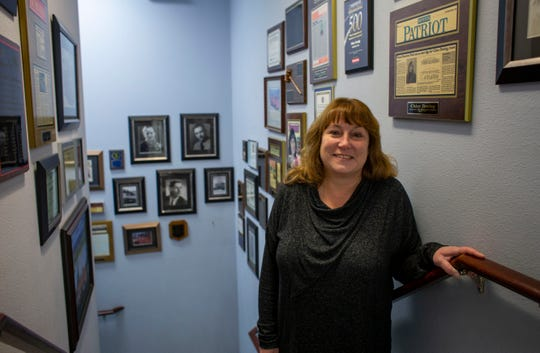 Stacey Tucker is the third-generation owner of Chico Towing. She sold the business to Kitsap Towing at the end of the year.