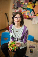 Ali Waltien, MA, CCLS, is a certified child life specialist at UVM Children's Hospital.