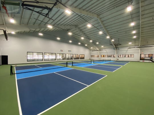 The Edge in South Burlington has provided Vermont pickleballers a professional space to play. Four new pickleball courts opened in December 2019.