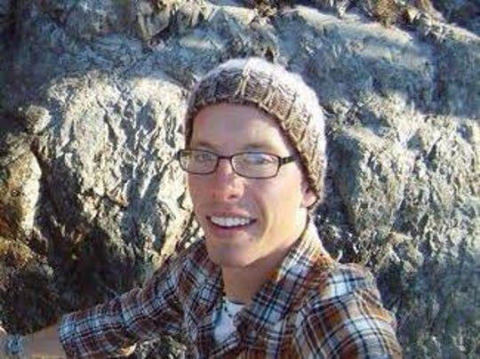Cameron Redus, shown during a trip to Enchanted Rock, was a student at the University of the Incarnate Word in San Antonio when he was shot to death by a campus police office in 2013.