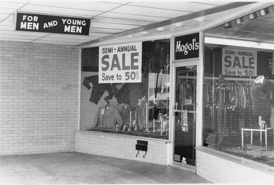 The Mogol's Fashions store opened in the Chillicothe Mall in 1976 and closed six years later.