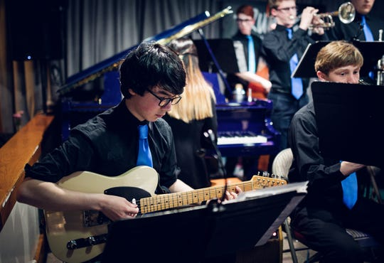 Westfield High School 12th grade guitarist Stephen Park has been selected to the 2020 Jazz Band of America.