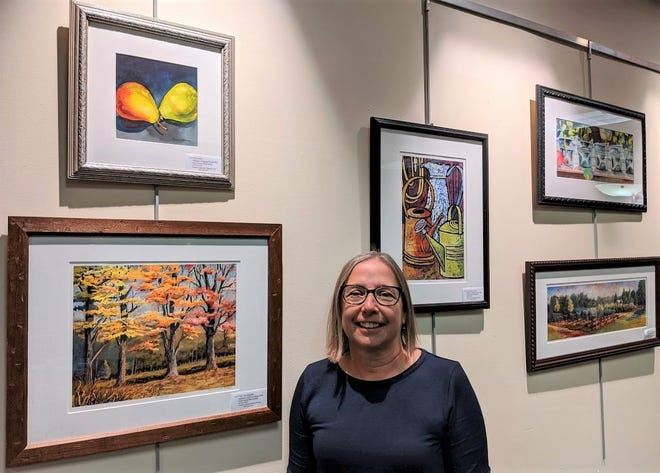 Through the months of December and January, explore the watercolor and pastel art of Whitehouse Station section of Readington resident Joanne Smith Bodnar in the Art Space at Warren located in the Somerset County Library System of New Jersey's (SCLSNJ) Warren Township Library branch.