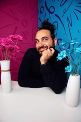 Esteban Touma is at the Independent Comedy Club Saturday.