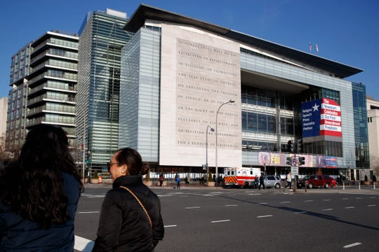 The Newseum will close the Pennsylvania Avenue location on Dec. 31, 2019.