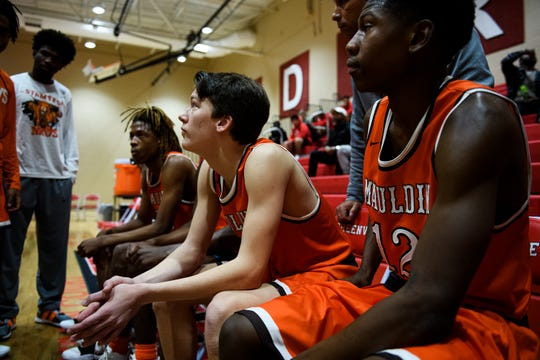 Mauldin plays Greer Middle College during the Poinsettia Classic Friday, Dec. 27, 2019.