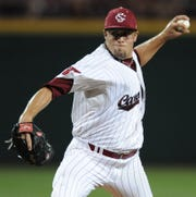 Former Riverside High School and University of South Carolina pitcher Michael Roth (29) has been named to the D1Baseball.com All-Decade team.