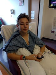 Farragut student Kincaid Eaker is recovering after a successful kidney transplant.