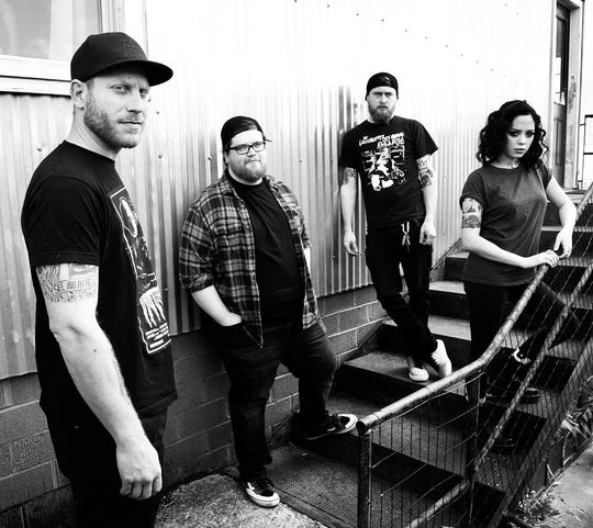 CAPRA, a metallic hardcore band with stories galore and a busy 2020 schedule, raising money for sober living through Life or Death Fest.